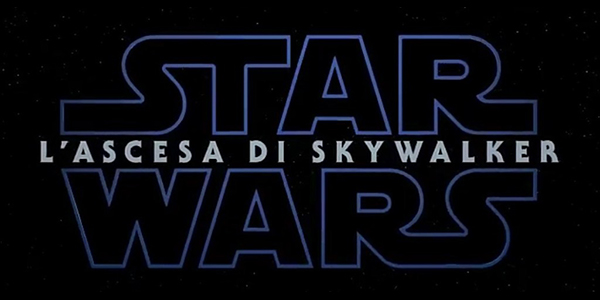 STAR WARS EPISODIO IX - L'ASCESA DI SKYWALKER
